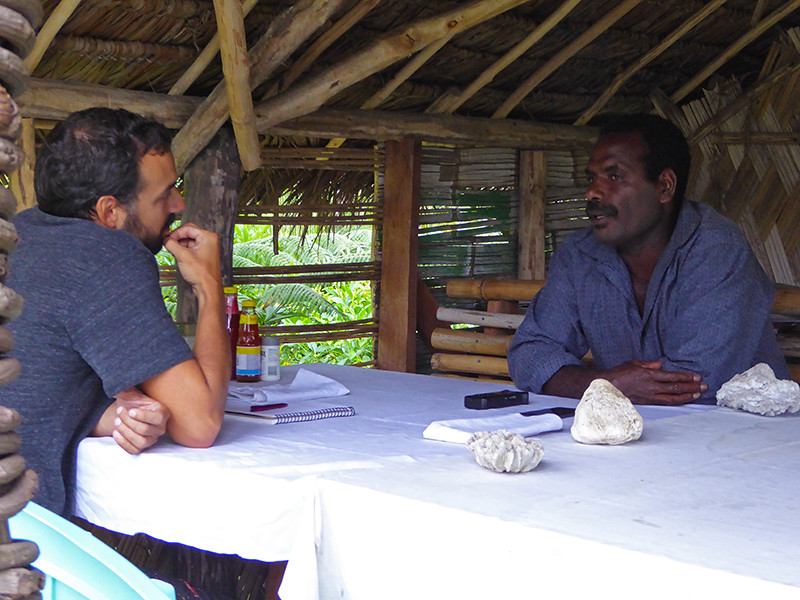 Interview of Esso Kapum about what makes for a happy life on Tanna Island in Vanuatu, by