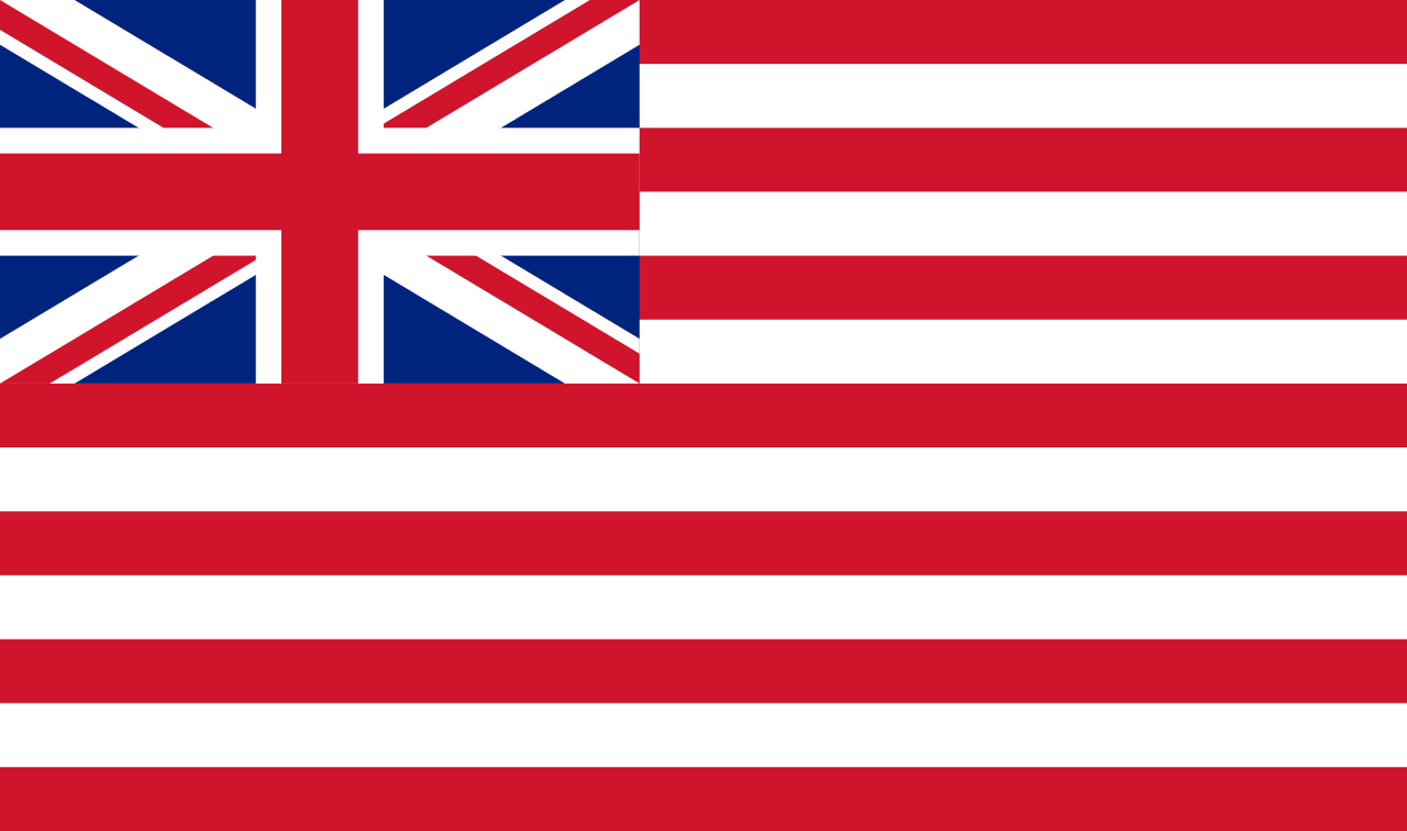 Flag of British East India Company from 1801