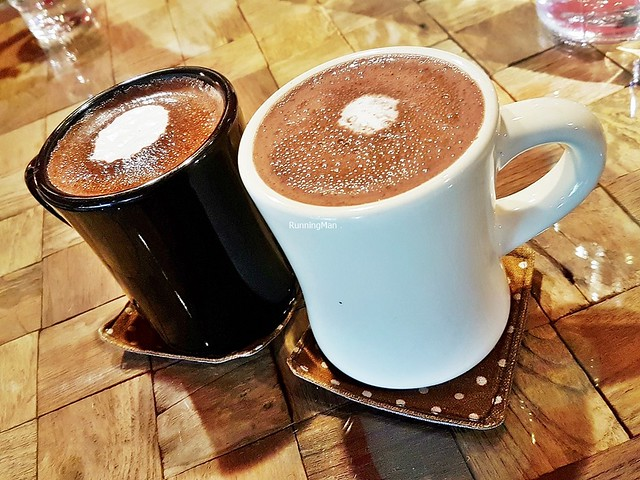 Mugs Of Valrhona Hot Chocolate