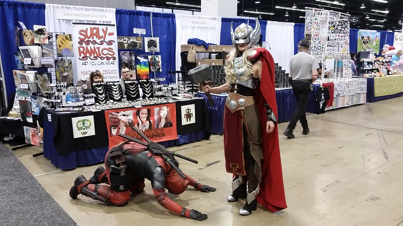 Deadpool and the Goddess of Thunder