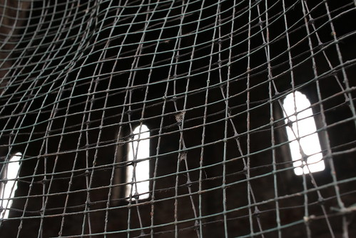 Banqueting hall window mesh