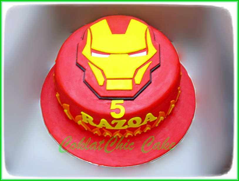 Cake Ironman RAZQA 24 cm
