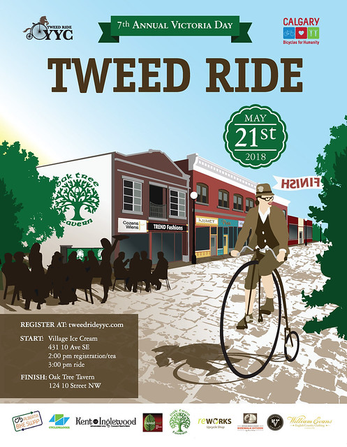 7th Annual Victoria Day Tweed Ride