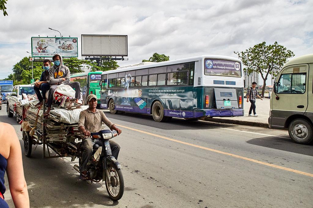 На перекладных по Азии. ОТКВФСИМТО. К - Камбоджа: Сиемрип и Пномпень