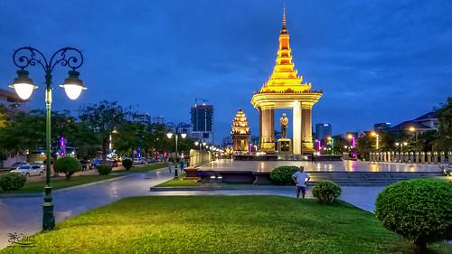 phnompenh dawn sunrise bluehour