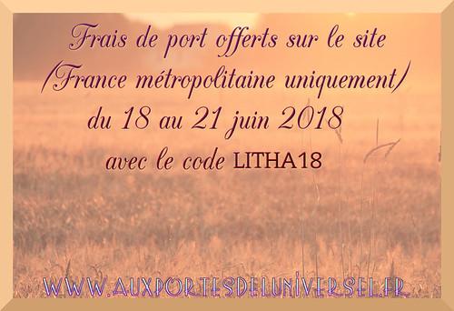 boutique ésotérique Aux Portes de l'Universel vous offre les frais de port pour litha