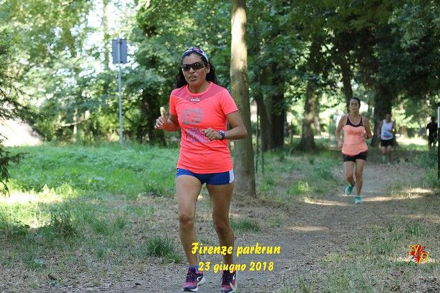 Firenze parkrun n. 39 - 23 Giugno 2018