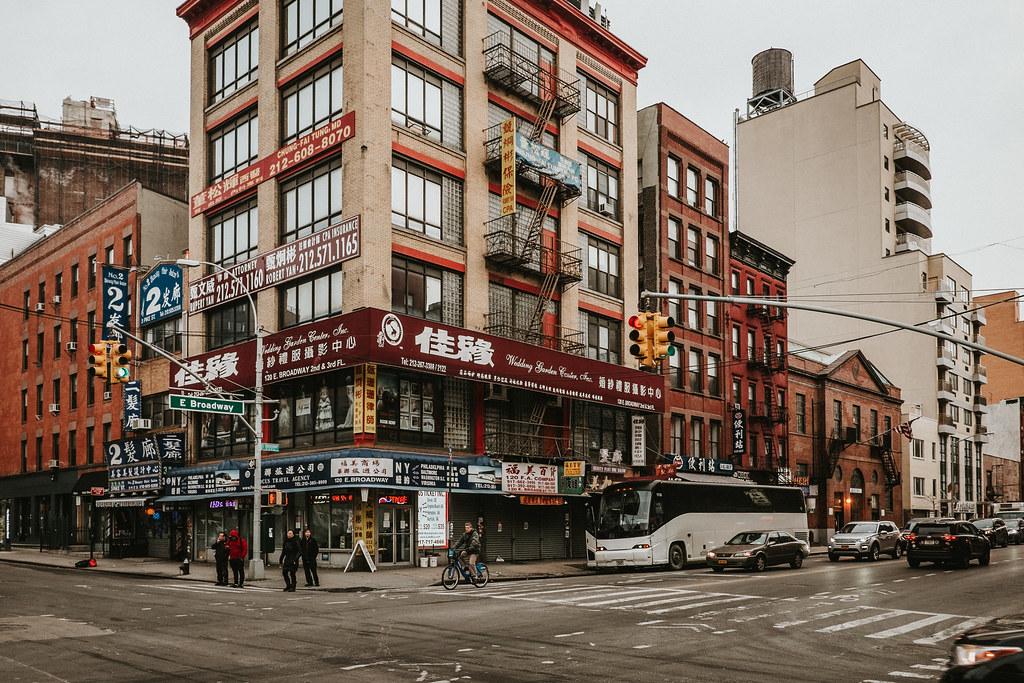East Broadway, New York City