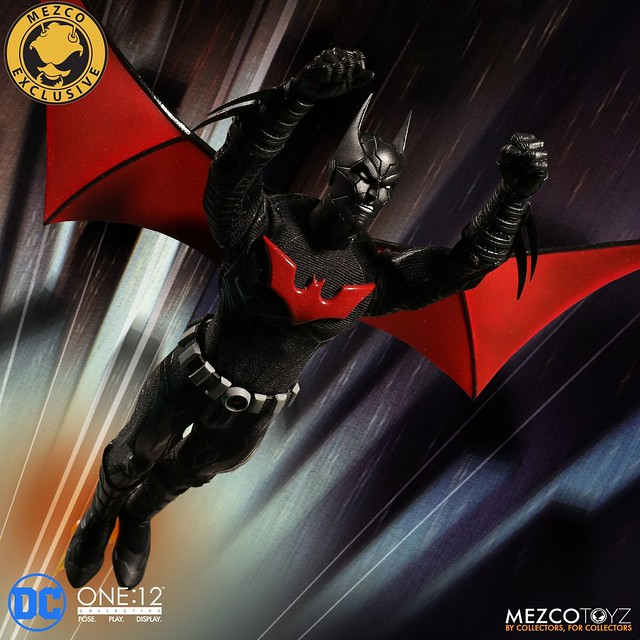 新的蝙蝠俠傳奇展開!! MEZCO ONE:12 COLLECTIVE 系列 DC Comics【未來蝙蝠俠】Batman Beyond Summer Exclusive 2018