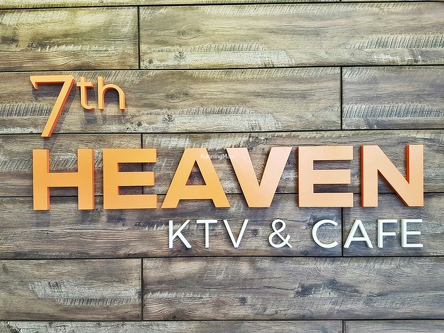 7th Heaven KTV & Cafe Signage