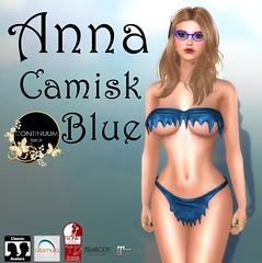 Continuum Anna Camisk blue - CONTINUUM VIP GROUP GIFT