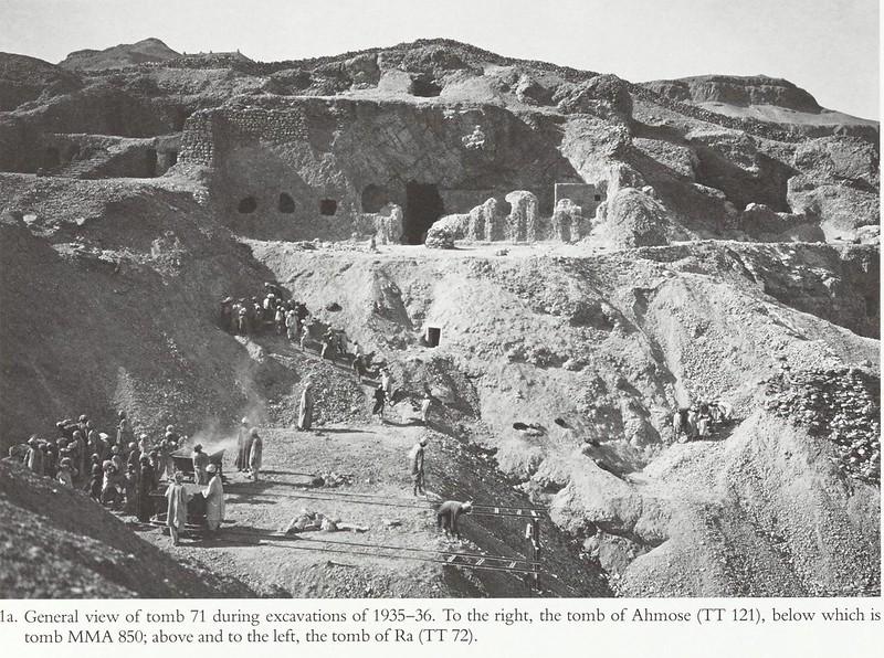 Древности Египта. Часть 72. Гробницы Сенмута №№71 и 353. Вып.1
