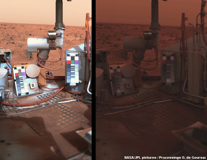A Powerful Dust Storm Has Darkened the Skies Over Opportunity on Mars