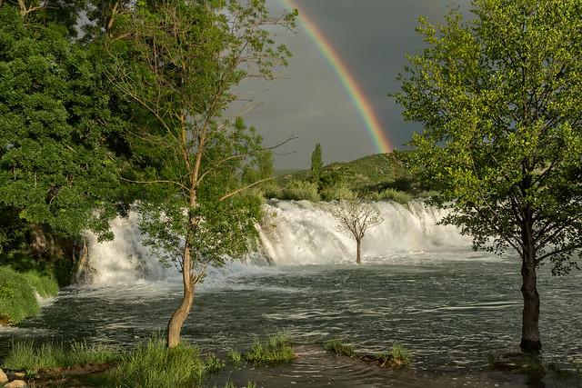 Wasserfall der Zrmanja, Sony SLT-A77V, Carl Zeiss Vario-Sonnar T* DT 16-80mm F3.5-4.5 ZA (SAL1680Z)