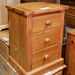 Pine 3 drawer locker E45