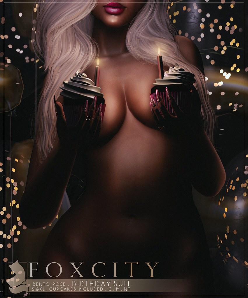 FOXCITY. Birthday Suit - TeleportHub.com Live!
