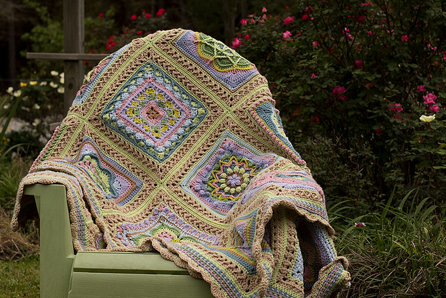 Whispers of Spring Afghan