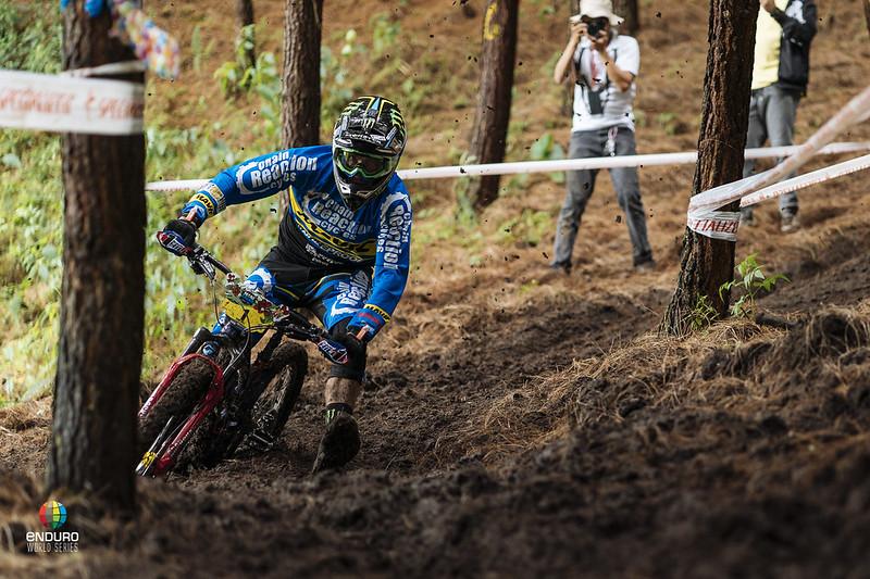 Sam Hill destroying ruts.