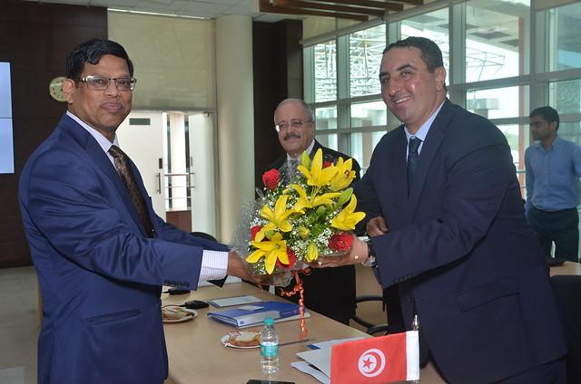 VISIT OF TUNISIA DELEGATION TO ISA Secretariat