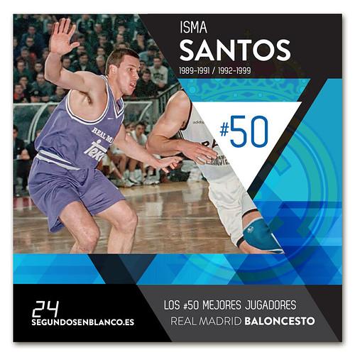 #50 ISMA SANTOS