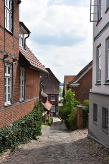 Alley in Plön