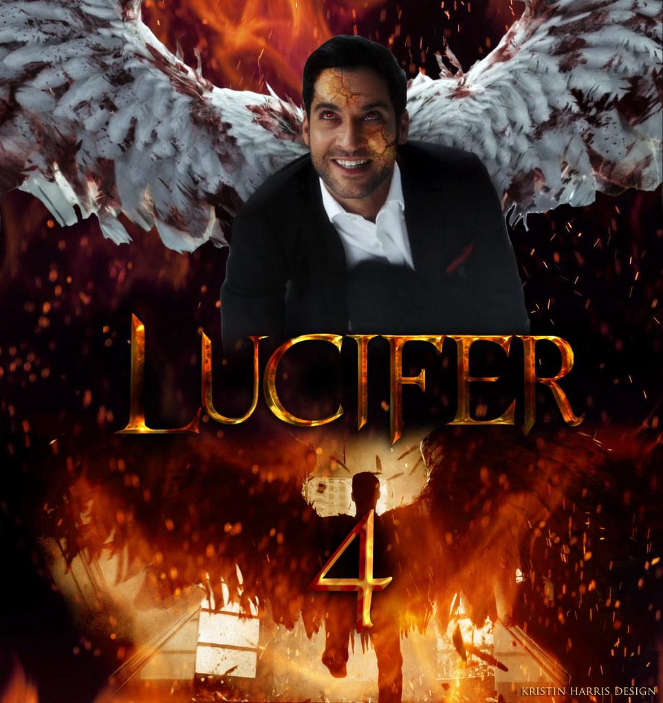 Lucifer Season 4 Cw: Lucifer Poster
