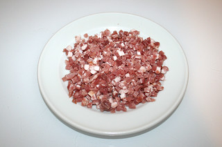 14 - Zutat Speckwürfel / Ingredient dices bacon