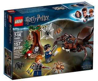 Sorry Ron. LEGO 75950 Aragog's Lair