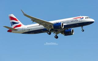 First Airbus A320 Neo British Airways G-TTNA