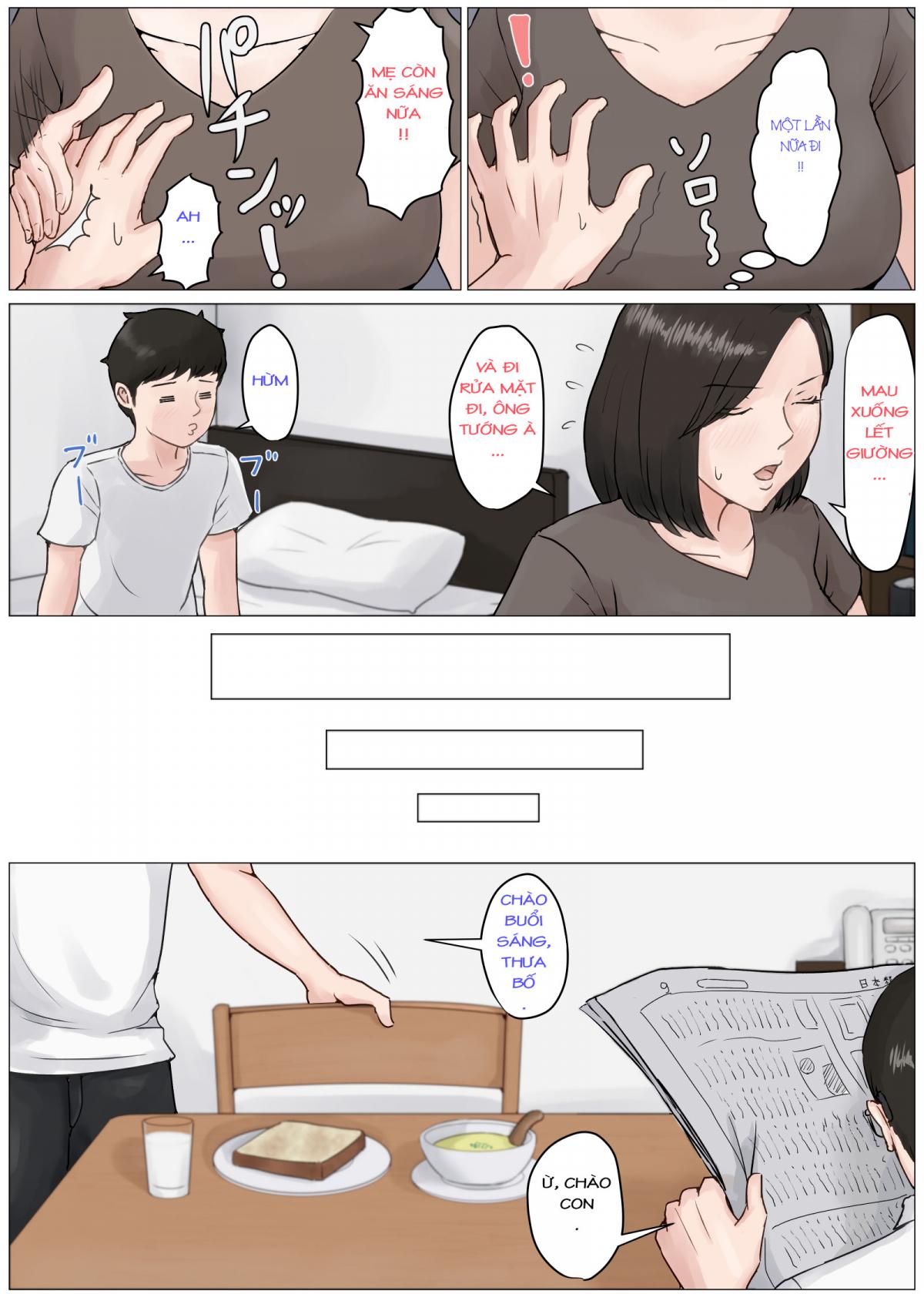 HentaiVN.net - Ảnh 12 - Kaa-san Janakya Dame Nanda!! 3 ~Natsuyasumi Zenpen~ - Mother it has to be you ~Summer Holiday First Part 1~ - Oneshot