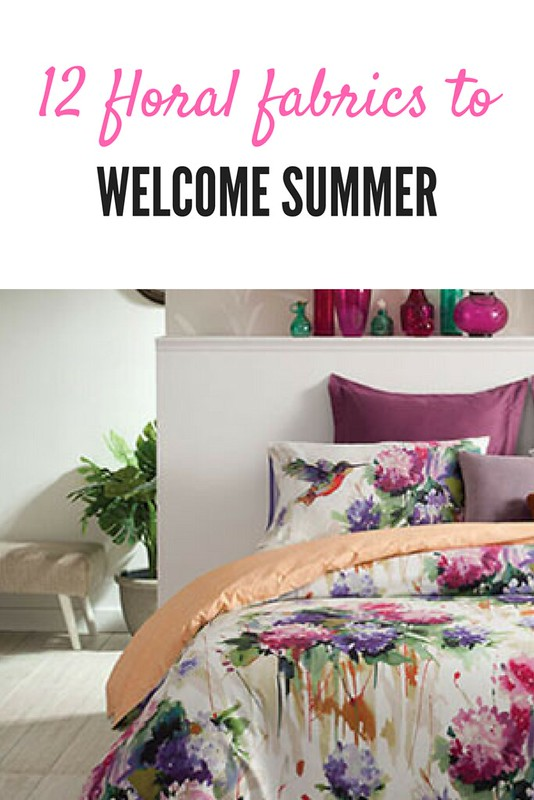 Floral fabrics to dress your wardrobe and home this summer