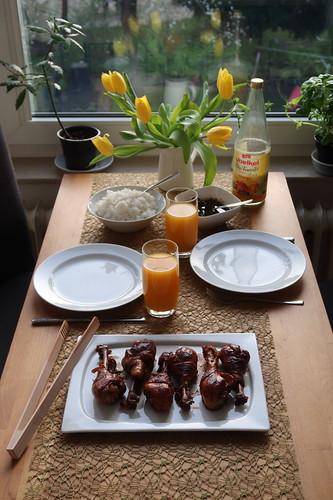 Adobo Manok (Tischbild)