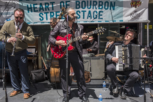 Harmonouche perform during French Quarter Fest 2018 on April 15, 2017. Photo by Ryan Hodgson-Rigsbee RHRphoto.com