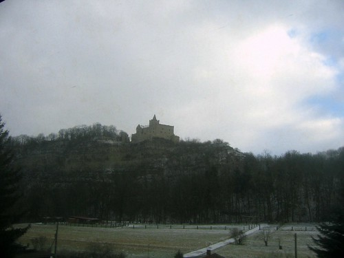 Rudelsburg bei Saaleck