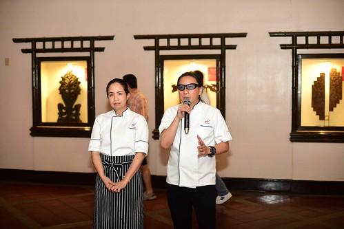 Waterfront Insular Hotel Davao Filipino Food Fiesta dinner buffet starting April 1, 2018 Chef Roland Laudico and Chef Jackie Laudico | WIHD photo