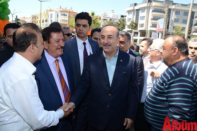 Dışişleri Bakanı Mevlüt Çavuşoğlu Alanyaspor Store Mağazası'nın açılışına katıldı -2