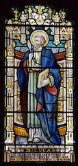 St Luke (Norwich Glass Company, 1914)