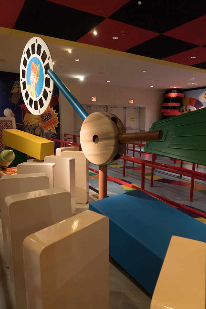 Toy Story Mania decorations