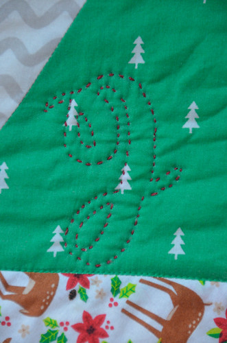 Hand-Quilt (or Embroider) with a Running Stitch