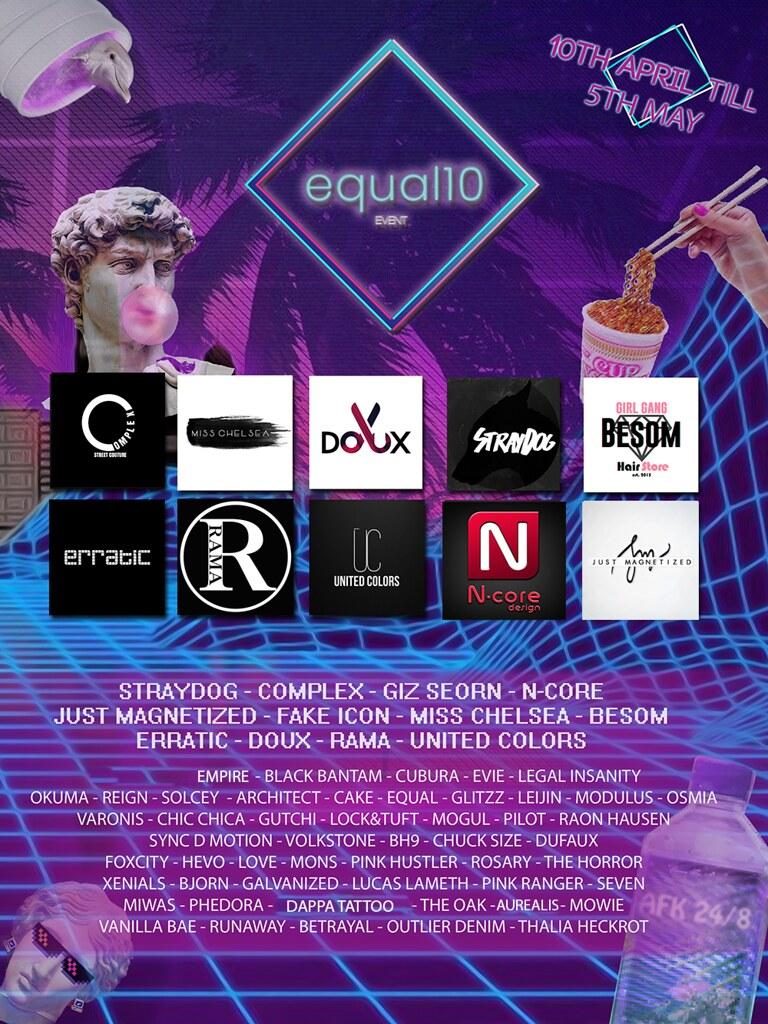 equal10 open now - TeleportHub.com Live!