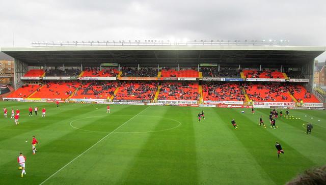 George Fox Stand, Tannadice Park, Dundee