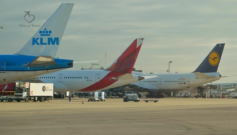 Vista de la terminal A