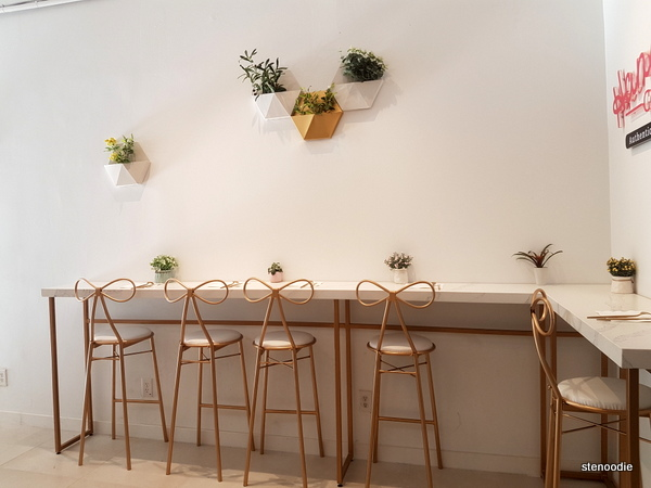 Hanabusa Café bar stools