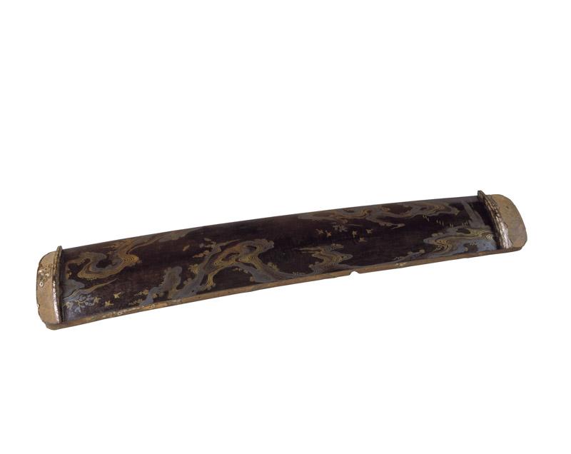 国宝 本宮御料古神宝類《蒔絵筝》(平安時代、春日大社、前期展示)