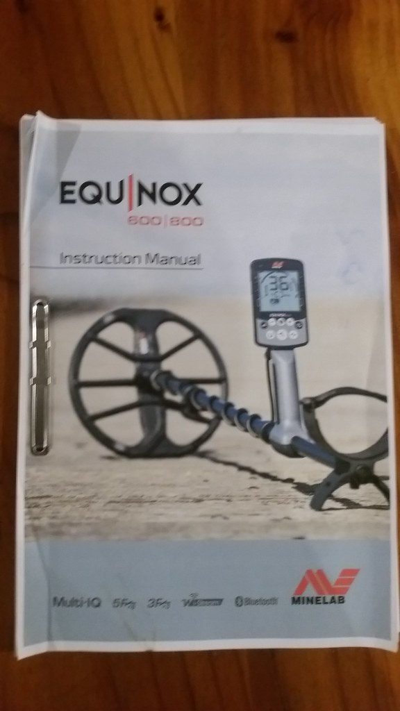how to print your own equinox manual in booklet form minelab