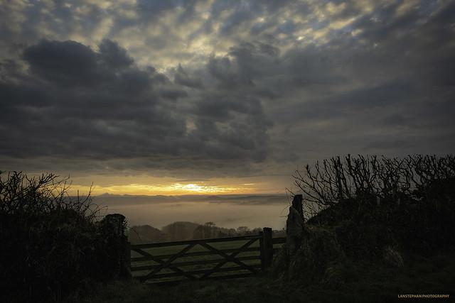 West Devon, Toward Brentor., Nikon D810, AF-S Nikkor 24mm f/1.8G ED