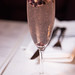 Beta Lambda Brut - muddled blackberries, lavender with sparkling wine