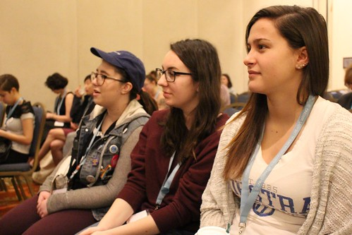 Students attending McMasters panel