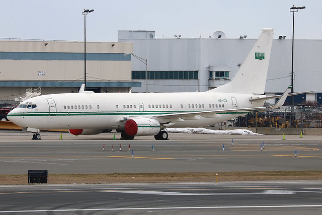 HZ-102 | Boeing 737-8DP(BBJ2) | Royal Saudi Air Force