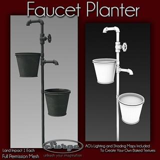 (Surge) Faucet Planter